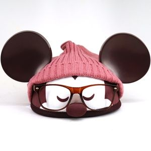 Disney Designer Hipster Mickey Mouse Ear Hat